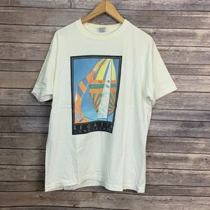 Vintage Shirts - Vintage Regatta Long Island Graphic T-shirt